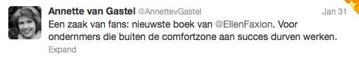 Zaak van fans - Annet van Gastel