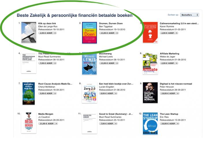 E-book verkopen via Apple i-book store
