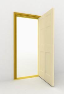 deur werkkamer stroef