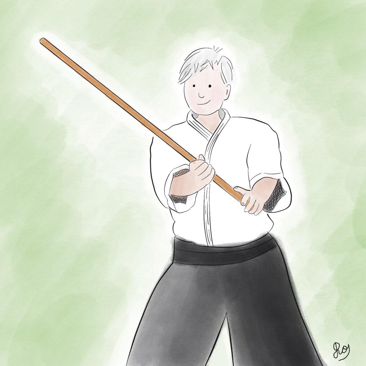 Aikido-mentor Francisca